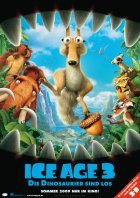 Ice Age 3 - Die Dinosaurier sind los - Plakat zum Film