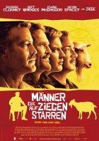 Männer, die auf Ziegen starren - Plakat zum Film