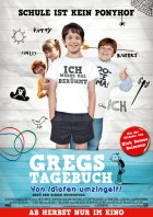 Gregs Tagebuch - Von Idioten umzingelt! - Plakat zum Film