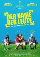 Der Name der Leute - Plakat zum Film