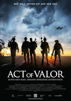 Act Of Valor - Plakat zum Film