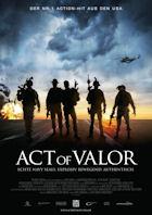 Act Of Valor - Plakat zum Film