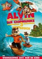 Alvin und die Chipmunks 3: Chipbruch - Plakat zum Film