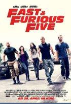 Fast And Furious Five - Plakat zum Film