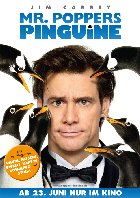 Mr. Poppers Pinguine - Plakat zum Film