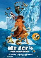 Ice Age 4 - Voll verschoben - Plakat zum Film