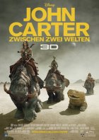 John Carter - Zwischen zwei Welten - Plakat zum Film
