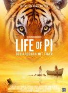 Life Of Pi: Schiffbruch mit Tiger - Plakat zum Film