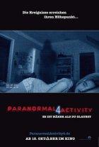 Paranormal Activity 4 - Plakat zum Film