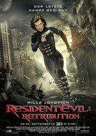 Resident Evil: Retribution - Plakat zum Film