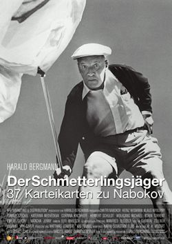Schmetterlingsjäger - 37 Karteikarten zu Nabokov - Plakat zum Film