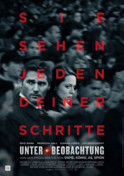 Unter Beobachtung - Plakat zum Film
