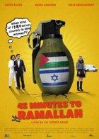 45 Minuten bis Ramallah - Plakat zum Film