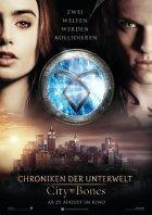 Chroniken der Unterwelt - City Of Bones - Plakat zum Film