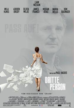 Dritte Person - Plakat zum Film