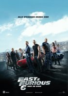 Fast And Furious 6 - Plakat zum Film
