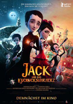 Jack und das Kuckucksuhrherz - Plakat zum Film