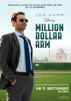 Million Dollar Arm - Plakat zum Film