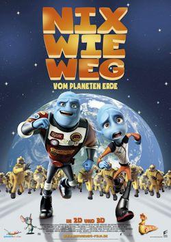 Nix wie weg - vom Planeten Erde - Plakat zum Film
