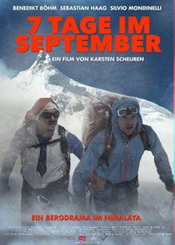 Sieben Tage im September - Plakat zum Film
