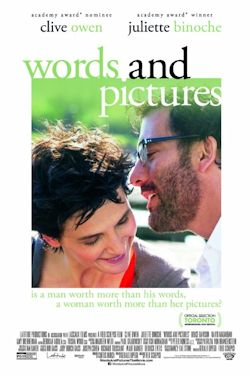 Words And Pictures - Plakat zum Film