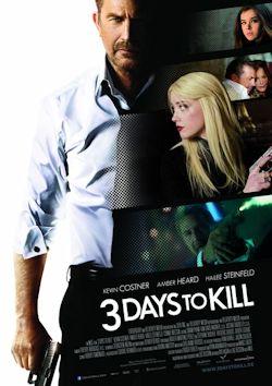 3 Days To Kill - Plakat zum Film
