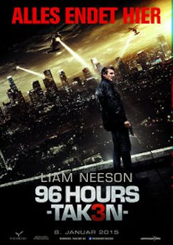 96 Hours - Taken 3 - Plakat zum Film