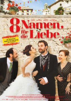 Acht Namen für die Liebe - Plakat zum Film