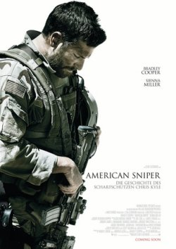 American Sniper - Plakat zum Film