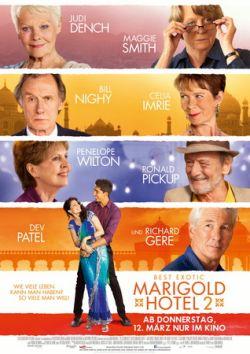 Best Exotic Marigold Hotel 2 - Plakat zum Film