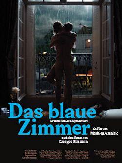 Das blaue Zimmer - Plakat zum Film