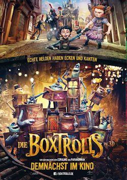 Die Boxtrolls - Plakat zum Film