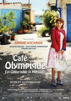 Cafe Olympique - Ein Geburtstag in Marseille - Plakat zum Film