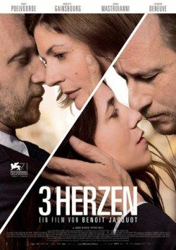 3 Herzen - Plakat zum Film
