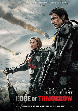 Edge Of Tomorrow - Plakat zum Film