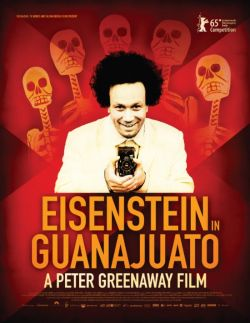 Eisenstein in Guanajuato - Plakat zum Film
