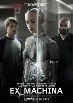 Ex-Machina - Plakat zum Film