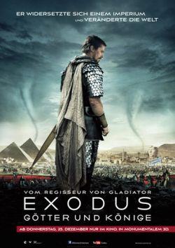 Exodus: Götter und Könige - Plakat zum Film