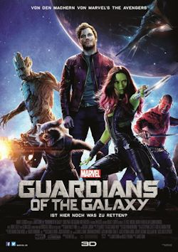 Guardians Of The Galaxy - Plakat zum Film