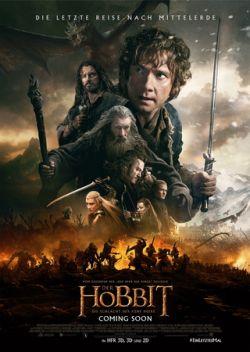 Der Hobbit: Die Schlacht der fünf Heere - Plakat zum Film