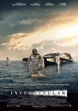 Interstellar - Plakat zum Film