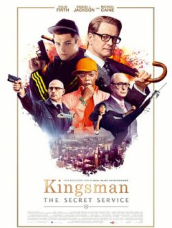 Kingsman: The Secret Service - Plakat zum Film
