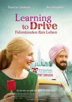 Learning To Drive - Fahrstunden fürs Leben - Plakat zum Film