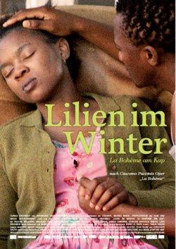 Lilien im Winter - La Boheme am Kap - Plakat zum Film