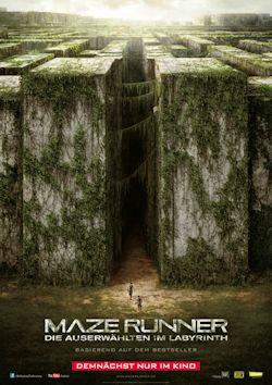 Maze Runner - Die Auserwählten im Labyrinth - Plakat zum Film