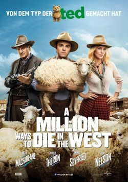 A Million Ways To Die In The West - Plakat zum Film