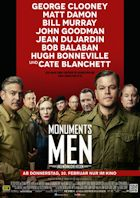 Monuments Men - Ungewöhnliche Helden - Plakat zum Film