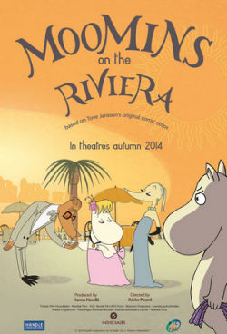 Mumins an der Riviera - Plakat zum Film