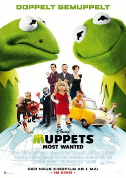 Muppets Most Wanted - Plakat zum Film