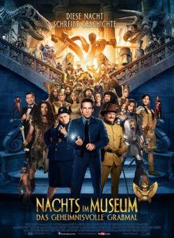 Nachts im Museum - Das geheimnisvolle Grabmal - Plakat zum Film